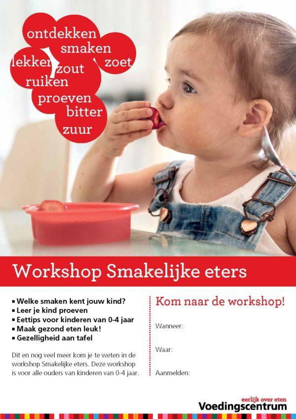 Poster workshop Smakelijke eters