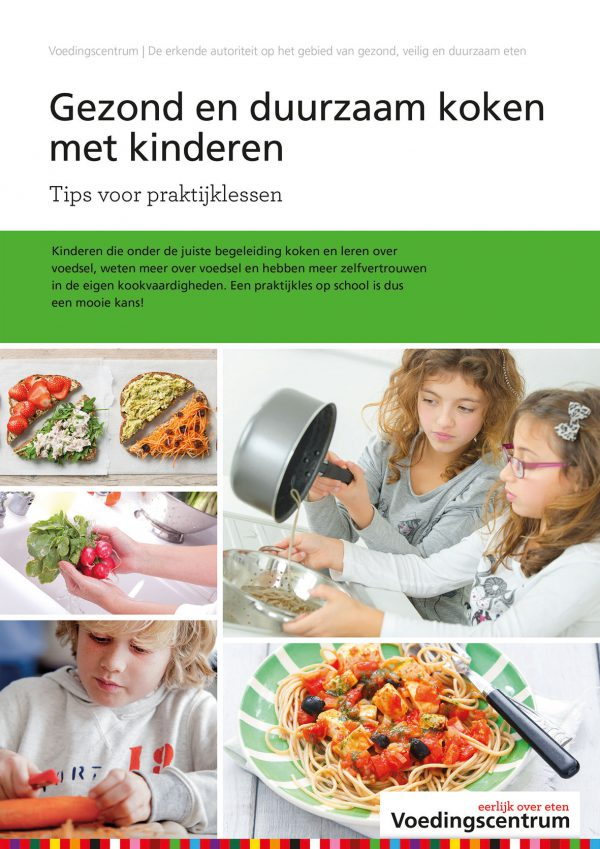 Gezond en duurzaam koken met kinderen